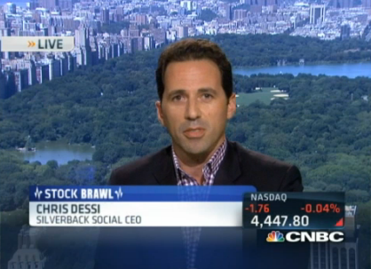 Chris Dessi on CNBC - Twitter Stock