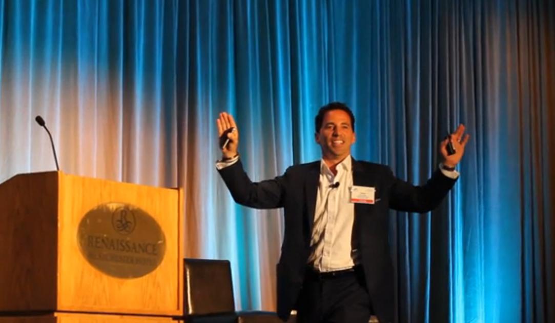 Chris Dessi speaking