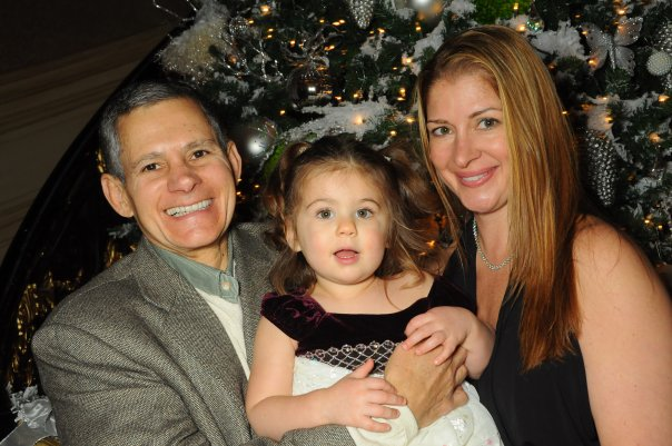 Ray with his wife Kimber, and daughter Sophia